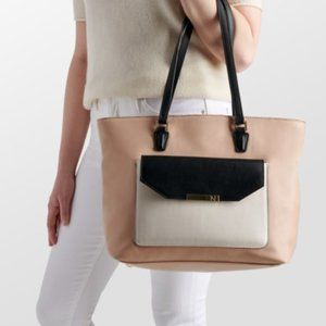 Naturalizer Tan Tote Bag with Clutch NWT